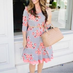 Matilda Jane Marzipan floral fit and flare dress